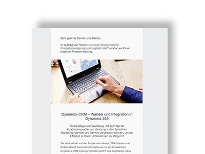MyContacts individuelle PresseMail